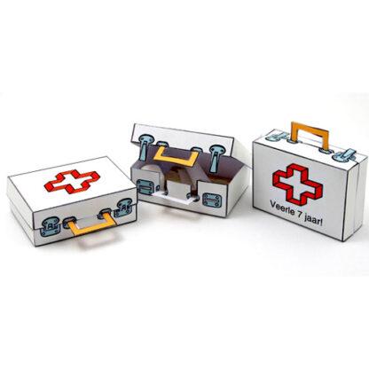 traktatie met dokterskoffer