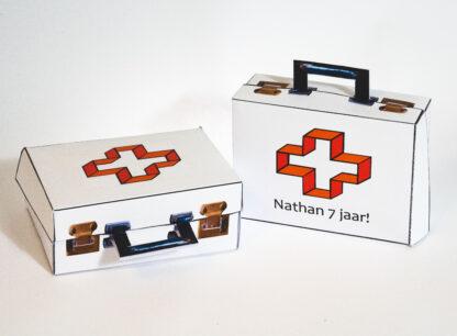 dokterskoffertje kindertraktatie doktertje spelen