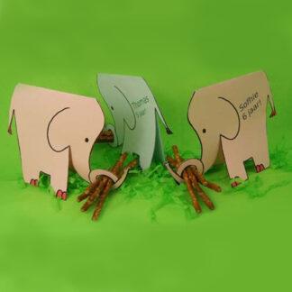 traktatie olifant zelf maken