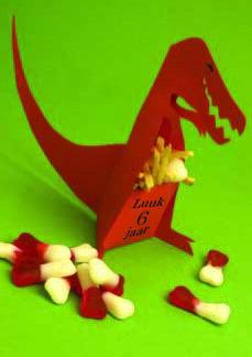 dinosaurus traktatie