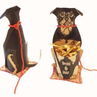 hondentraktatie voor verjaardag rottweiler