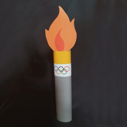 trakteren op olympische vlam